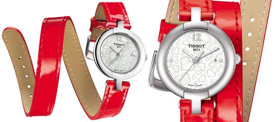 Rote Armbanduhren 01