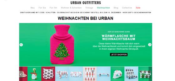 Weihnachten bei Urban Outfitters 01