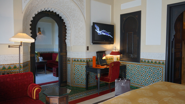 La Mamounia Zimmer 308 Marrakesch Marokko 06