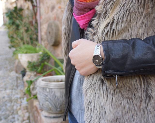 Bulova Diamant Uhr Outfit 04