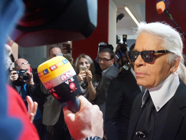 Corsa, Karl Lagerfeld & Choupette Ausstellung in Berlin 02