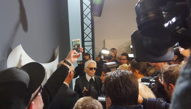 Corsa, Karl Lagerfeld & Choupette Ausstellung in Berlin 03
