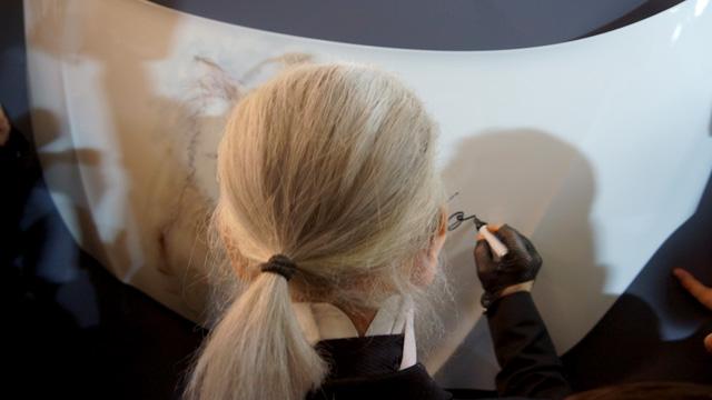 Corsa, Karl Lagerfeld & Choupette Ausstellung in Berlin 04