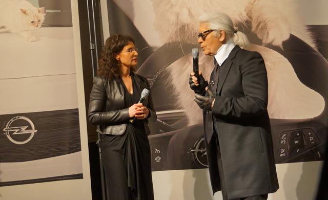 Corsa, Karl Lagerfeld & Choupette Ausstellung in Berlin 08
