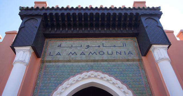 Hotel La Mamounia in Marrakesch Marrakech Marokko 01