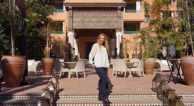 Hotel La Mamounia in Marrakesch Marrakech Marokko 07