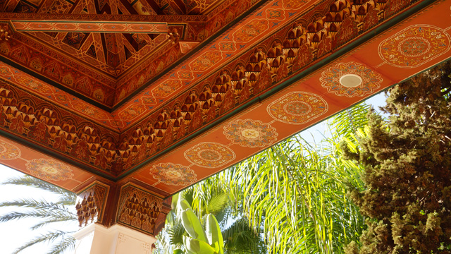 Hotel La Mamounia in Marrakesch Marrakech Marokko 08