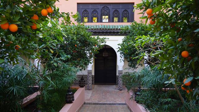 La Mamounia Spa Garten Marrakesch Marokko 01