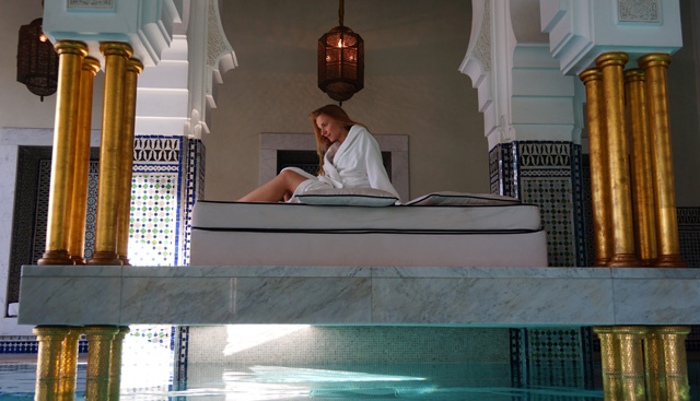 La Mamounia Spa Garten Marrakesch Marokko 04