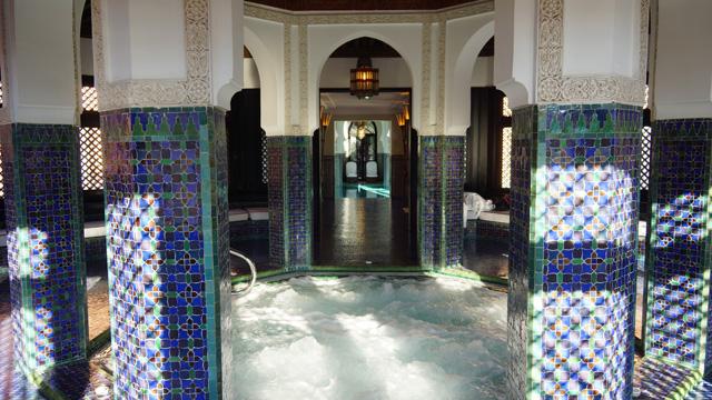 La Mamounia Spa Garten Marrakesch Marokko 05