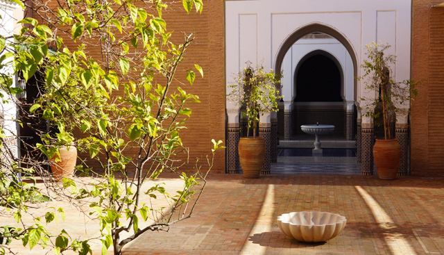 La Mamounia Spa Garten Marrakesch Marokko 06