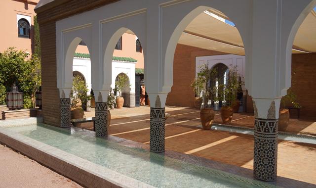 La Mamounia Spa Garten Marrakesch Marokko 07