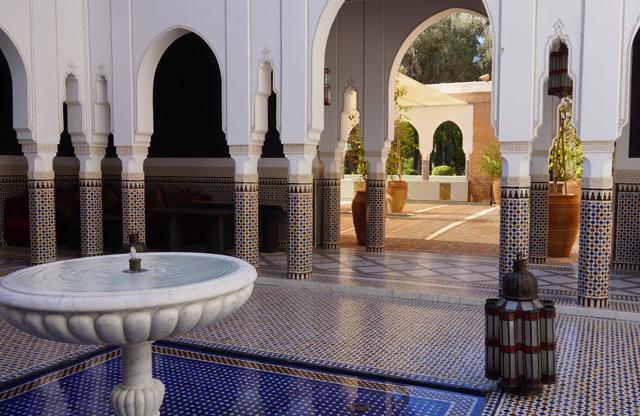 La Mamounia Spa Garten Marrakesch Marokko 08