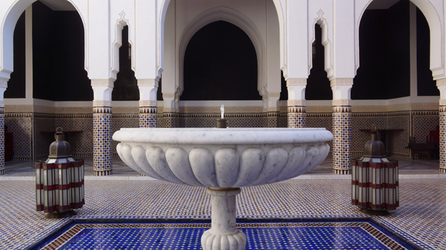 La Mamounia Spa Garten Marrakesch Marokko 09