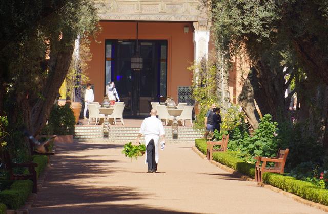 La Mamounia Spa Garten Marrakesch Marokko 13