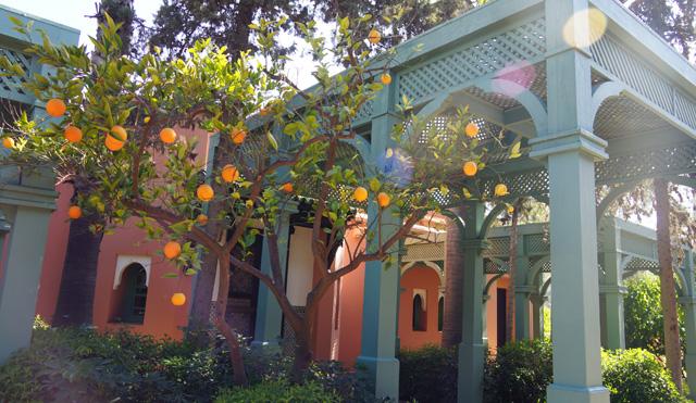 La Mamounia Spa Garten Marrakesch Marokko 14