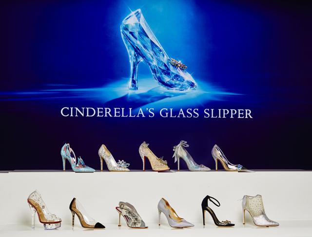 Luxus-Schuhdesigner entwerfen Traumschuhe wie Cinderellas Glasschuh