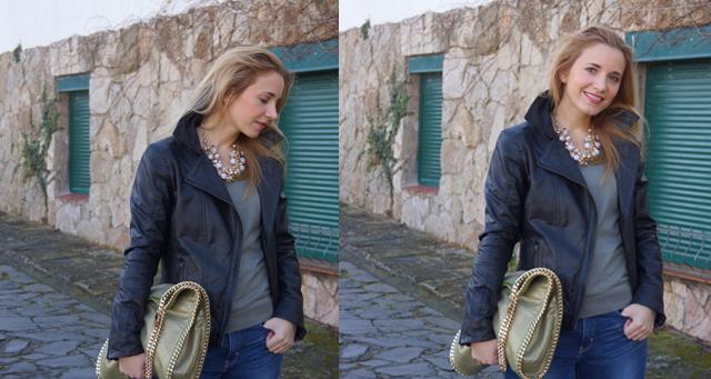 Outfit BOMBOOGIE Lederjacke 12