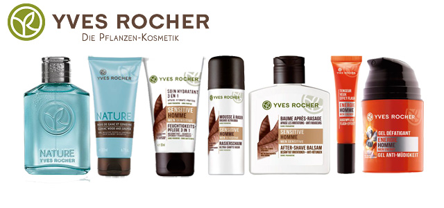 Yves Rocher Männer-Paket Gewinnspiel