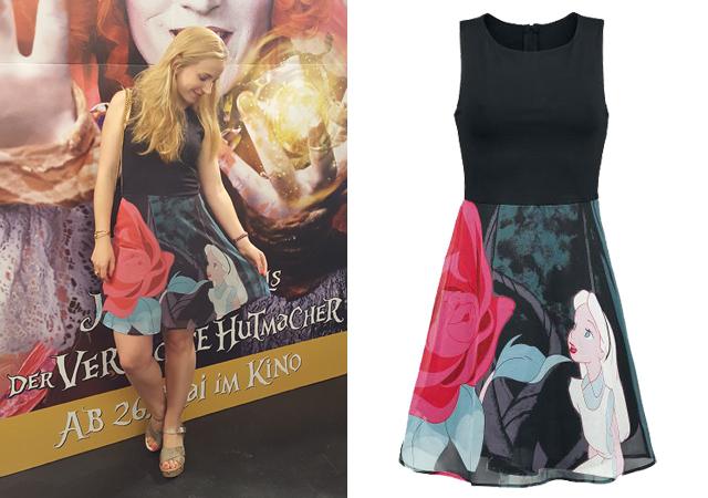 Alice im Wunderland Flower Kleid