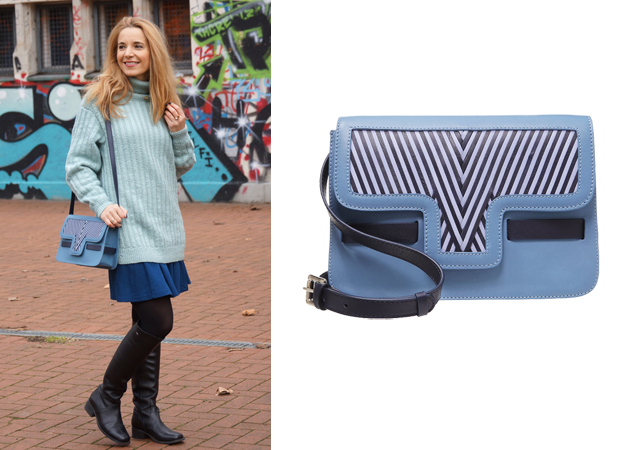 Lili Radu Tasche Bag iconic blue
