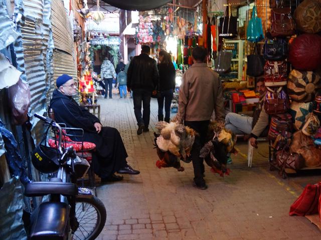 Marrakesch Marokko Djemaa el Fna 05