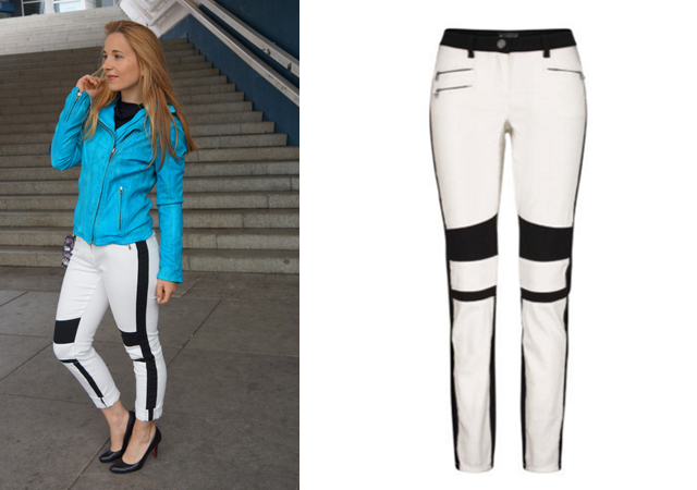 Outfit Bikerhose Laura Scott