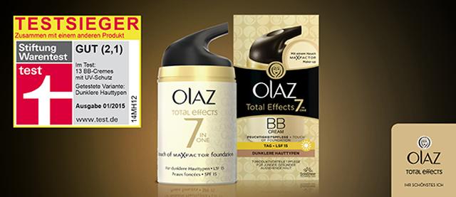 Testsieger Olaz Total Effects BB Cream & Gewinnspiel 01
