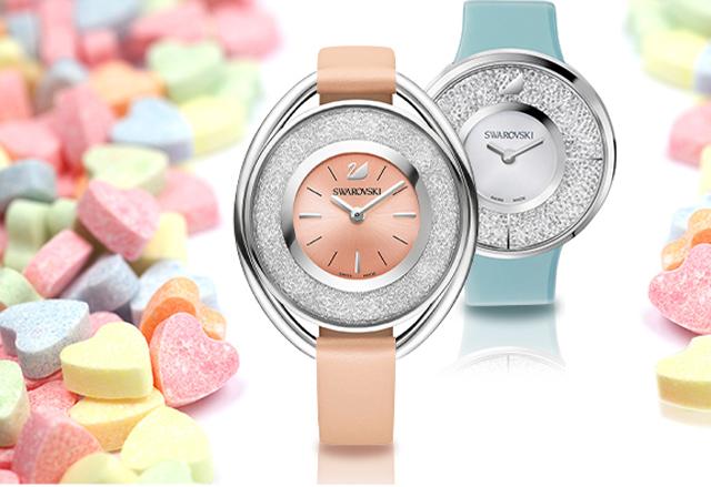 Die neue Swarovski Uhrenkollektion in Candy Colours 2015 02