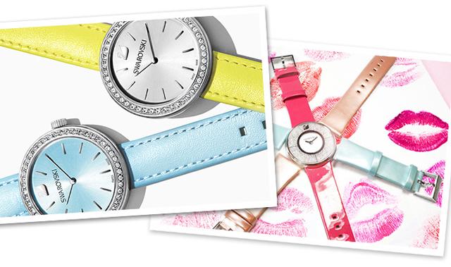 Die neue Swarovski Uhrenkollektion in Candy Colours 2015 03