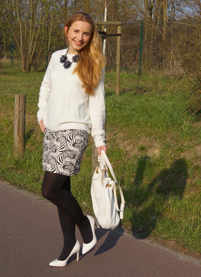 Outfitprojekt 30 Tage im Schwarz-Weiß-Look Outfit 10 02
