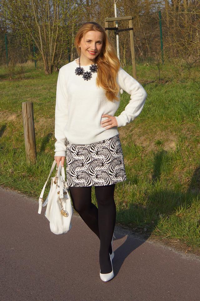 Outfitprojekt 30 Tage im Schwarz-Weiß-Look Outfit 10 03