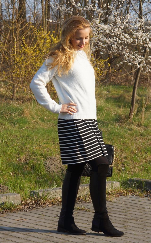 Outfitprojekt 30 Tage im Schwarz-Weiß-Look Outfit 14 03