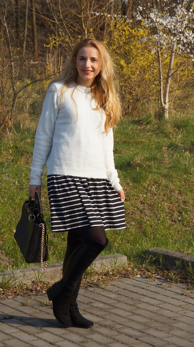 Outfitprojekt 30 Tage im Schwarz-Weiß-Look Outfit 14 06