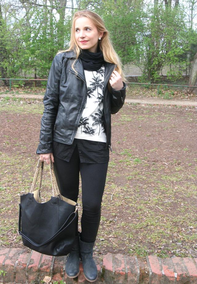 Outfitprojekt 30 Tage im Schwarz-Weiß-Look Outfit 18 03