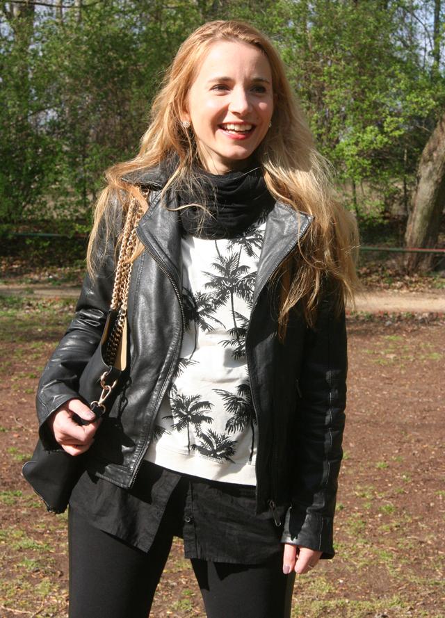 Outfitprojekt 30 Tage im Schwarz-Weiß-Look Outfit 18 05
