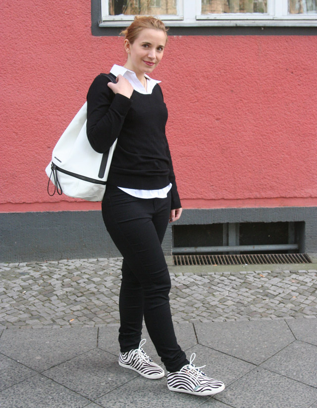 Outfitprojekt 30 Tage im Schwarz-Weiß-Look Outfit 20 03