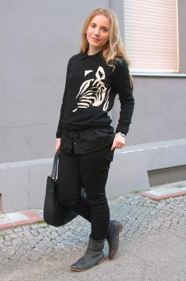 Outfitprojekt 30 Tage im Schwarz-Weiß-Look Outfit 21 02
