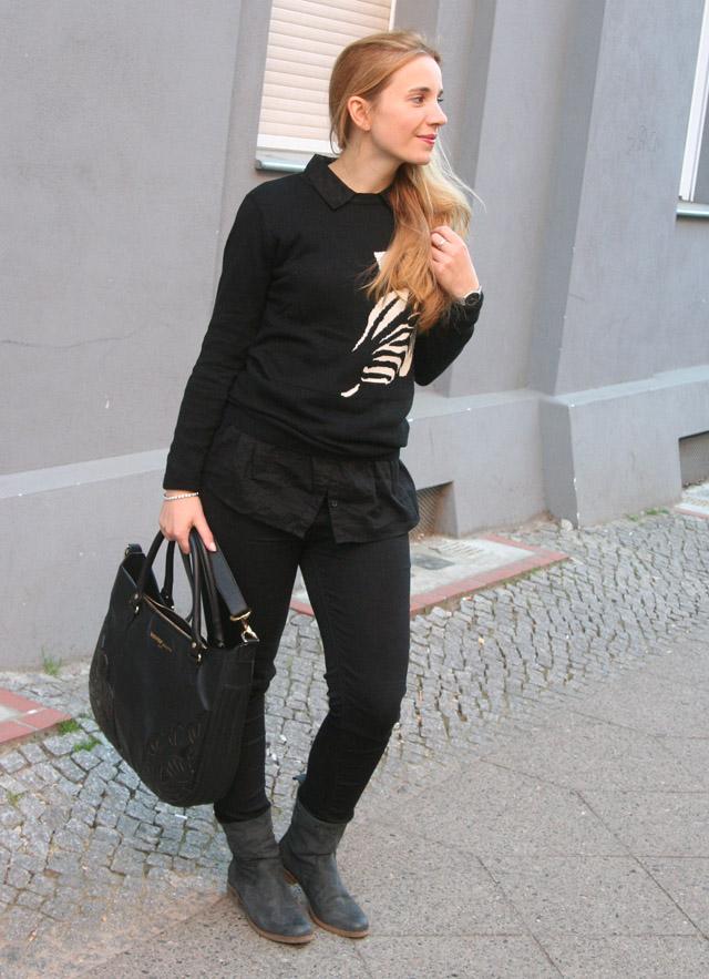Outfitprojekt 30 Tage im Schwarz-Weiß-Look Outfit 21 03