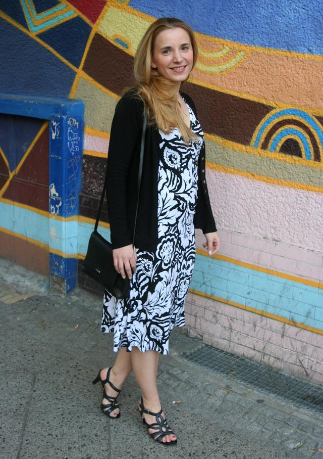 Outfitprojekt 30 Tage im Schwarz-Weiß-Look Outfit 23 02