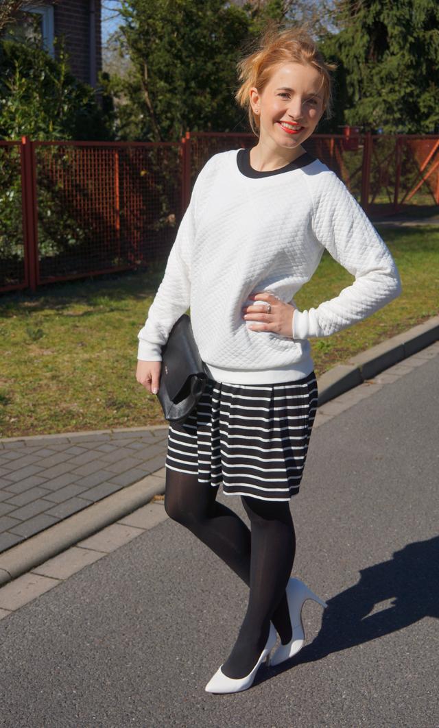 Outfitprojekt 30 Tage im Schwarz-Weiß-Look Outfit 29 02