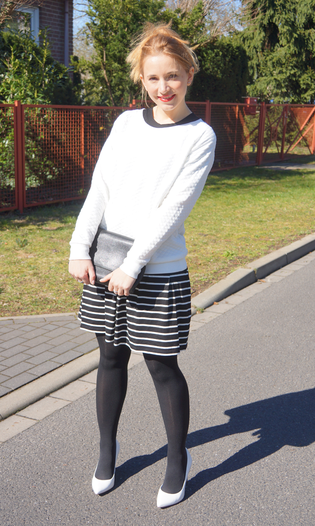 Outfitprojekt 30 Tage im Schwarz-Weiß-Look Outfit 29 04