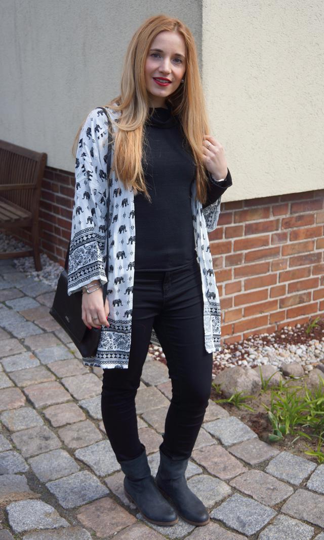 Outfitprojekt 30 Tage im Schwarz-Weiß-Look - Outfit 4 02