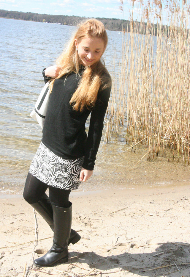 Outfitprojekt 30 Tage im Schwarz-Weiß-Look Outfit 5 04
