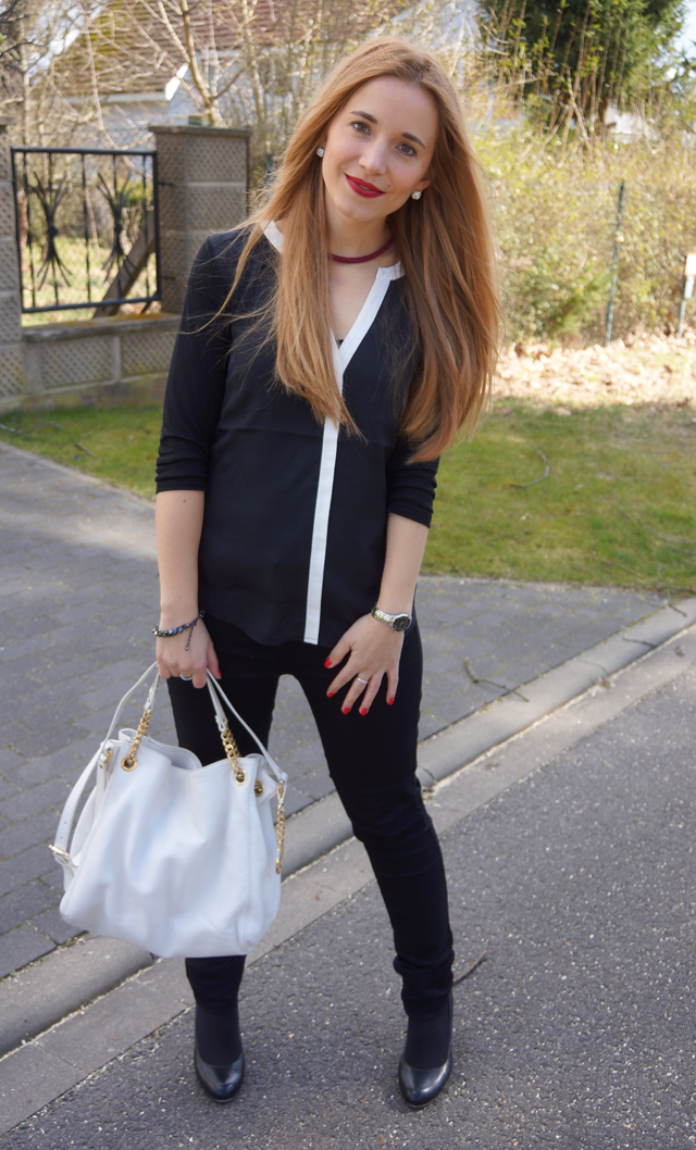 Outfitprojekt 30 Tage im Schwarz-Weiß-Look Outfit 7 04