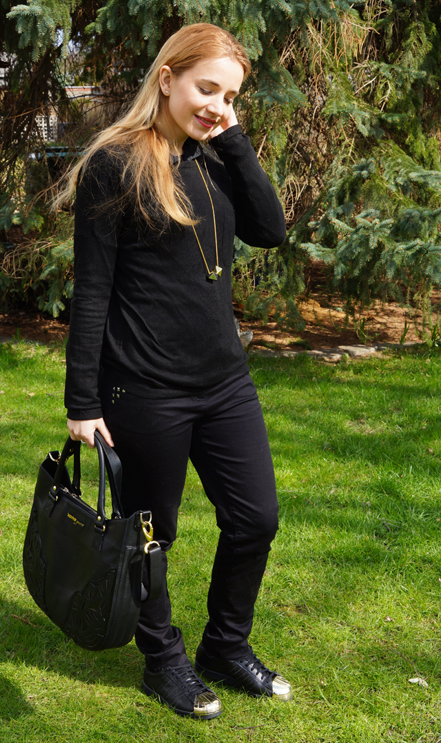 Outfitprojekt 30 Tage im Schwarz-Weiß-Look Outfit 9 02