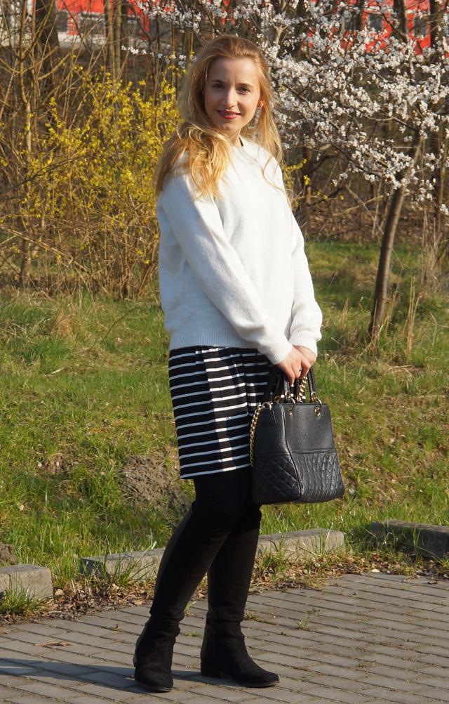 Outfitprojekt 30 Tage im Schwarz-Weiß-Look Outfit 14 02
