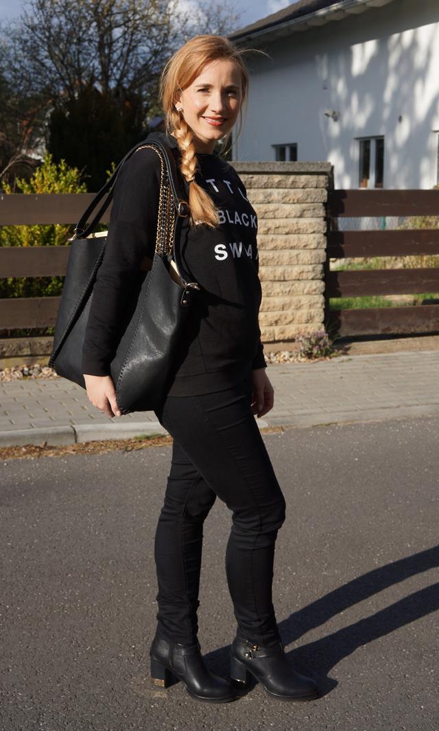 Outfitprojekt 30 Tage im Schwarz-Weiß-Look Outfit 17 02