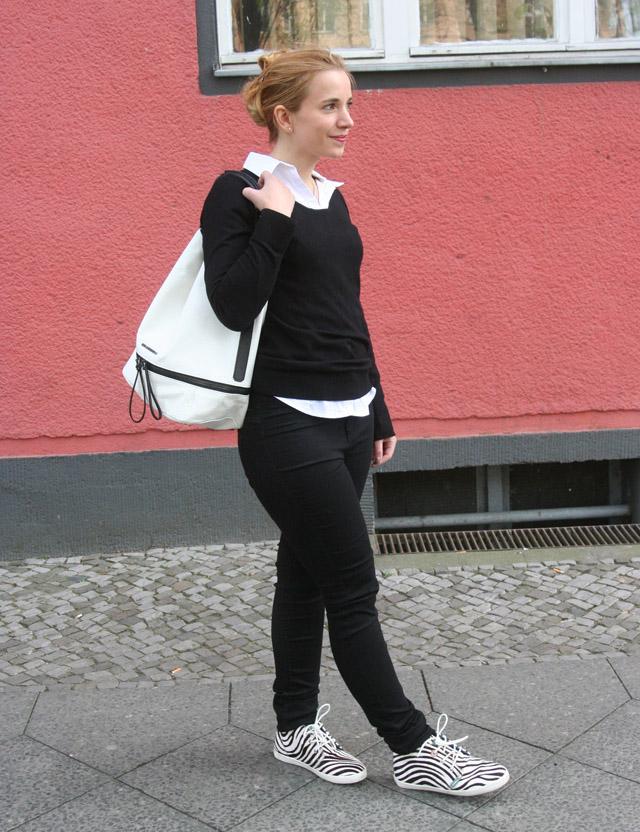 Outfitprojekt 30 Tage im Schwarz-Weiß-Look Outfit 20 02
