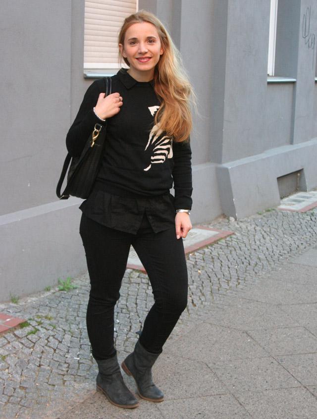 Outfitprojekt 30 Tage im Schwarz-Weiß-Look Outfit 21 04